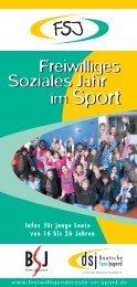 Broschüre - Bremer Sportjugend
