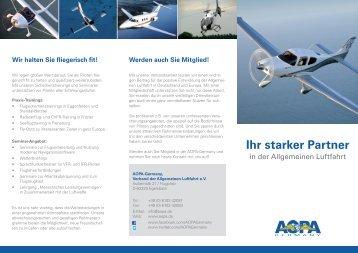 Ihr starker Partner - AOPA - Germany
