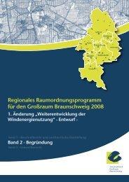 """1. Änderung """"Weiterentwicklung der Windenergienutzung"""" - Entwurf"""