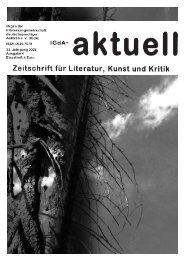 Heft 4 / 2008 - Interessengemeinschaft deutschsprachiger Autoren eV