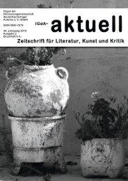 Heft 2 (2010) - Interessengemeinschaft deutschsprachiger Autoren eV