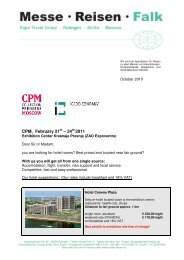 CPM, February 21 – 24 2011 - Igedo Company