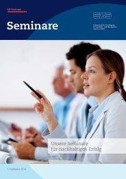 SQS-Seminare, 1. Halbjahr 2014