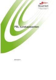 Allmänt om PBL - Boverket