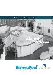 24 Riviera Pool Spas - Aqua Solar AG