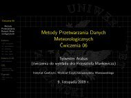 slajdy [PDF, 0,8 MiB] - Instytut Geofizyki