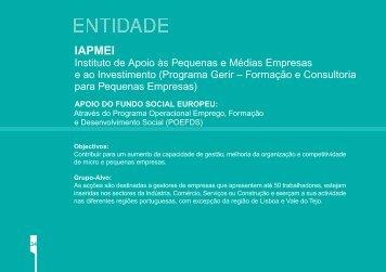 PDF (1.012 KB) - Instituto de Gestão do Fundo Social Europeu