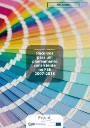 construção e planeamento de projectos inovadores - Instituto de ...