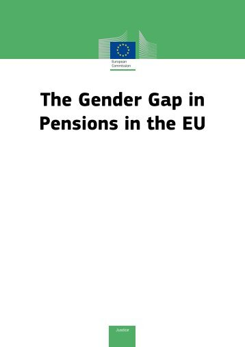 The Gender Gap in Pensions in the EU - European Commission ...