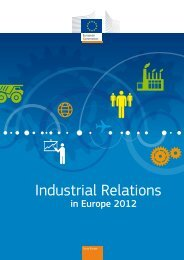 Industrial Relations in Europe 2012 - European Commission - Europa