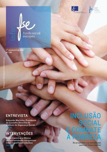INCLUSÃO SOCIAL E COMBATE À POBREZA - Instituto de Gestão ...