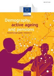Demography, active ageing and pensions - European Commission ...