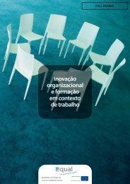 Inovação organizacional e formação em contexto de trabalho
