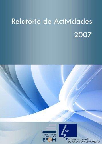 PDF (2368 KB) - Instituto de Gestão do Fundo Social Europeu