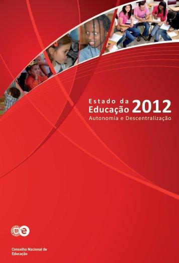 estado da educação 2012.pdf - CRUP