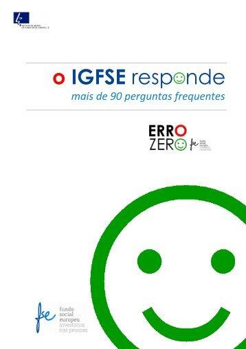 Documento - Instituto de Gestão do Fundo Social Europeu