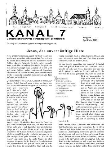 Jesus, der unvernünftige Hirte - Protestantische Kirche Iggelheim