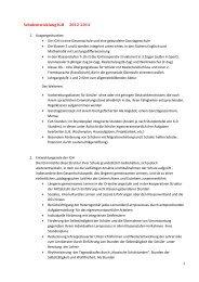 Schulentwicklung IGH 2012-2014 - Internationale Gesamtschule ...