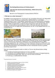 Bericht über den Besuch der chinesischen Gruppe - Internationale ...