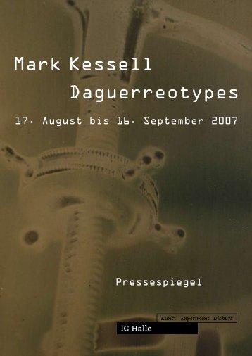 Pressespiegel Mark Kessell als PDF-Dokument downloaden - IG Halle