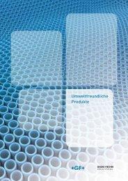 Umweltfreundliche Produkte (PDF | 1 MB) - Georg Fischer JRG AG