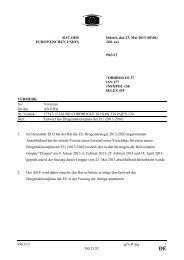 DE - Öffentliches Register der Ratsdokumente - Europa