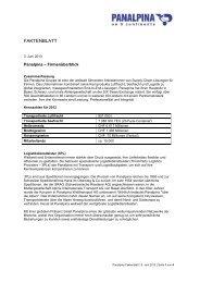 Übersicht Panalpina [pdf | 240 KB]