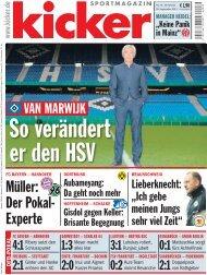 Müller: Der Pokal- Experte