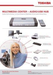 MULTIMEDIA CENTER – AUDIO/USB HUB