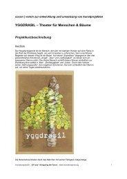 YGGDRASIL – Theater für Menschen & Bäume - IG Kultur Wien