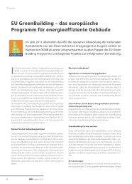 EU GreenBuilding - IBO - Österreichisches Institut für Baubiologie ...