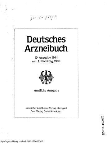 Deutsches Arzneibuch