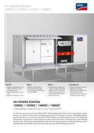 mv power station 1000sc / 1250sc / 1600sc / 1800sc - SMA Solar ...