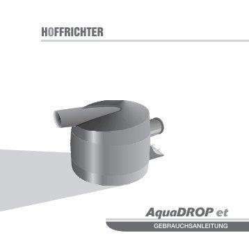 AquaDROP et-deu-0507-01:VECTOR et.qxd - Hoffrichter GmbH