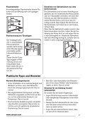 Benutzerinformation Kühl - Gefrierschrank ... - Electrolux-ui.com - Page 7