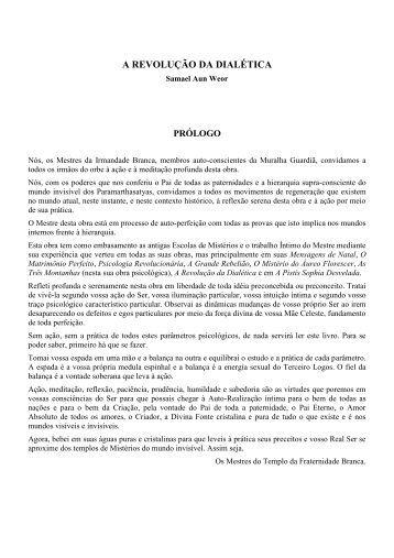 a revolução da dialética - Iglesia Cristiana Gnóstica Litelantes y ...