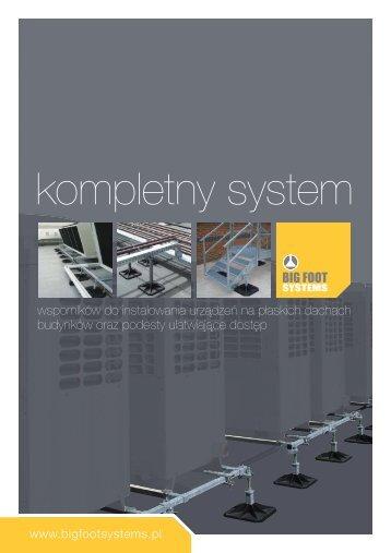 Katalog systemy BIG FOOT - Iglotech