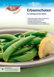 Verkaufsfolder Erbsenschoten 120921.indd - bei Iglo Gastronomie!