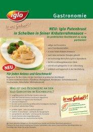 bei Iglo Gastronomie!