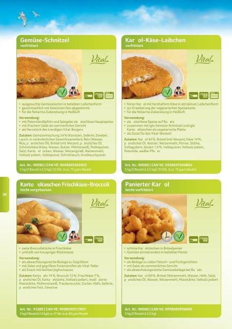 Sortimentskatalog 2013 - bei Iglo Gastronomie!