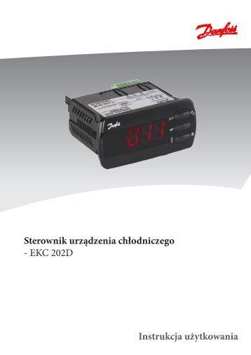 Sterownik urządzenia chłodniczego - EKC 202D Instrukcja ... - Iglotech