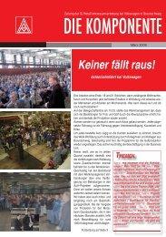 Ausgabe 1 /2009 - IG Metall Braunschweig