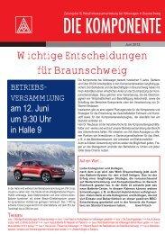 Ausgabe 2/2012 - IG Metall Braunschweig