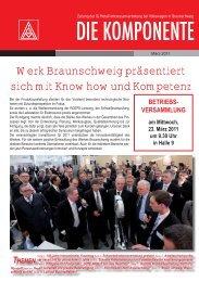 Ausgabe 1/2011 - IG Metall Braunschweig