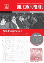 Ausgabe 2 / 2008 - IG Metall Braunschweig