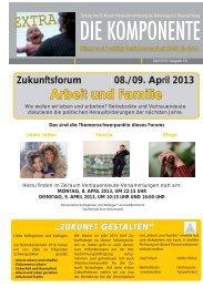 Ausgabe Extra Arbeit und Familie - IG Metall Braunschweig