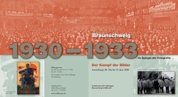 Flyer zur Ausstellung - IG Metall Braunschweig