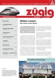 zügig 52 Ausgabe Mai 2010 - IG Metall Braunschweig