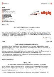 zügig 27 Ausgabe Oktober 2000 - IG Metall Braunschweig