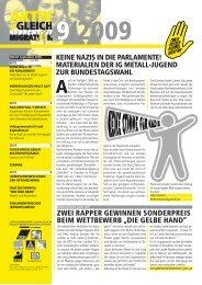 keine nazis in die parlamente! - IG Metall Braunschweig